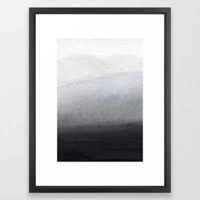 Sl01 Framed Art Print by Georgiana Paraschiv - Vector Black Frame - Society6