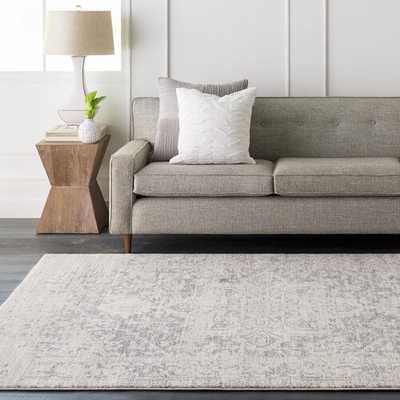 Hillsby Charcoal/Light Gray/Beige Area Rug - Neva Home