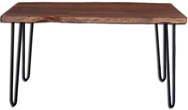 Angeles Crest Live Edge Dining Table Natural - Apt2B