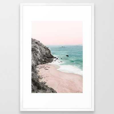 Coast 5 Framed Art Print - Society6
