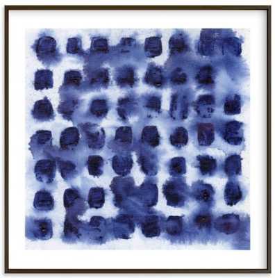 Indigo blot test - Artfully Walls
