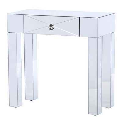 Jessa Mirrored Console Table - AllModern