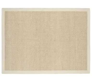 Chenille Jute Basketweave Rug, 9x12', Natural - Pottery Barn
