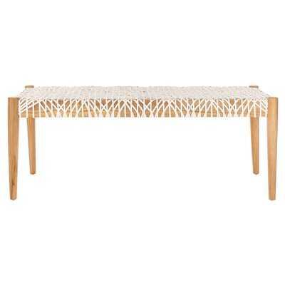 Bradbury Solid Wood Bench - AllModern