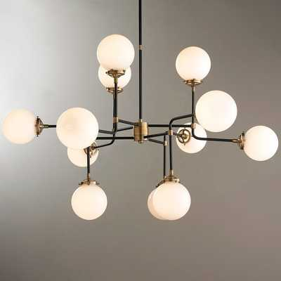 MID-CENTURY PARLOR CHANDELIER - Shades of Light