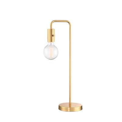 "Ornellas 22.3"" Desk Lamp, Gold - Wayfair"