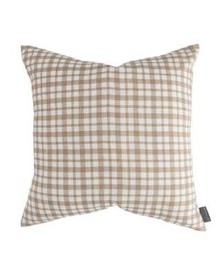 EDISON GINGHAM PILLOW COVER - McGee & Co.