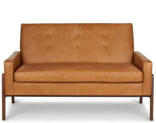 Nord Charme Tan Loveseat - Article