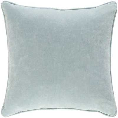 "Safflower Pillow - Mint / 18"" x 18"" / Poly Insert - Neva Home"
