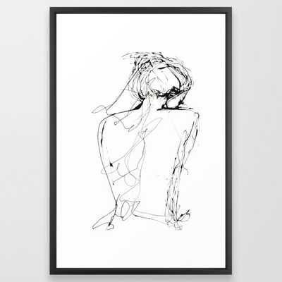 Virginia Framed Art Print - Society6