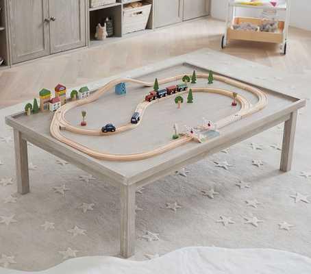 Carolina Grow-with-you Activity Table - Pottery Barn Kids