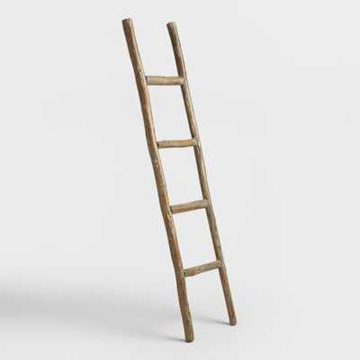 Wood Ladder Decor: Natural by World Market - World Market/Cost Plus
