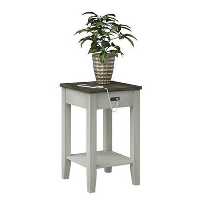 Darrell End Table with Storage - Wayfair