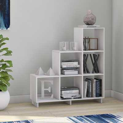 Susannah Stair Step Bookcase - Wayfair