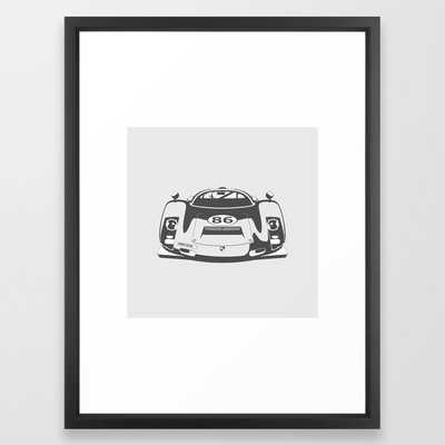 Porsche 906 Framed Art Print - Society6