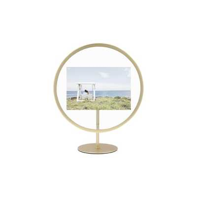 Matte Brass Infinity Photo Display Picture Frame - Wayfair