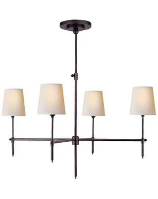 BRYANT LARGE CHANDELIER - BRONZE - McGee & Co.