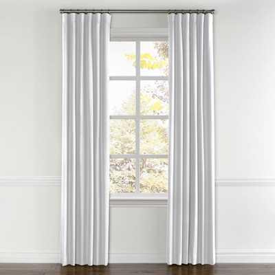 Convertible Drapery  Lush Linen - Optic White - Loom Decor
