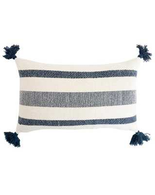"MONI PILLOW WITHOUT INSERT, 12"" x 20"" - McGee & Co."
