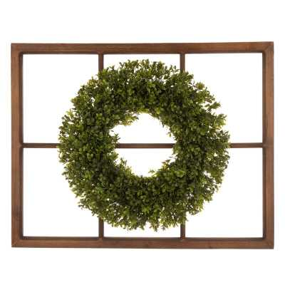 Wooden Window Frame Wall Décor - Wayfair