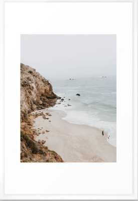 malibu coast / california Framed Art Print - Society6