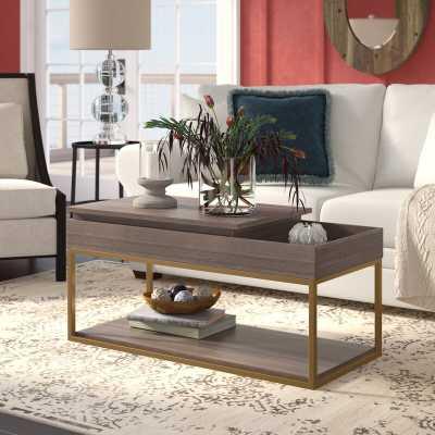 Broadridge Coffee Table with Storage - Wayfair