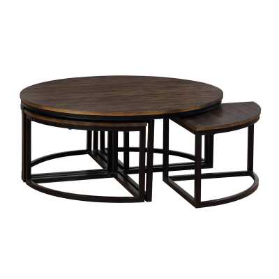 Hensley 5 Piece Coffee Table Set - Birch Lane
