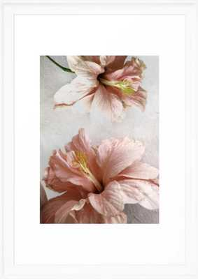 Blossom, Pink Flowers Framed Art Print - Society6