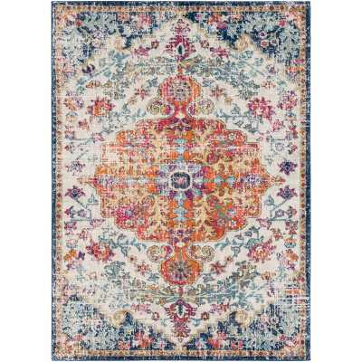 "Hillsby Oriental Multicolor Area Rug-7'10"" x 10'3"" - Wayfair"