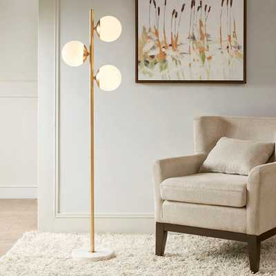 MODERN GLOBES VERTICAL FLOOR LAMP - Shades of Light