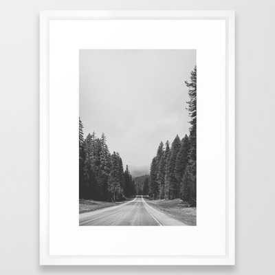ROAD TRIP VIII Framed Art Print - Society6