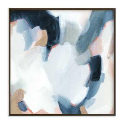 """Lush Composition / 44"""" x 44"""" / Matte Black - Minted"""