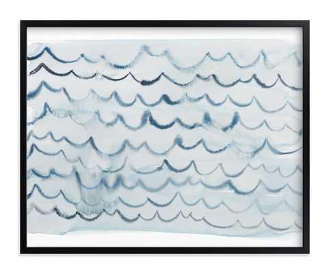 waves-  pool blue - Minted
