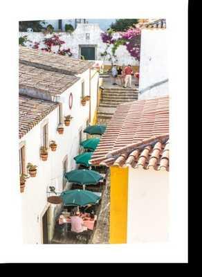 Obidos, Portugal Print - 20x28 no fram - Artfully Walls