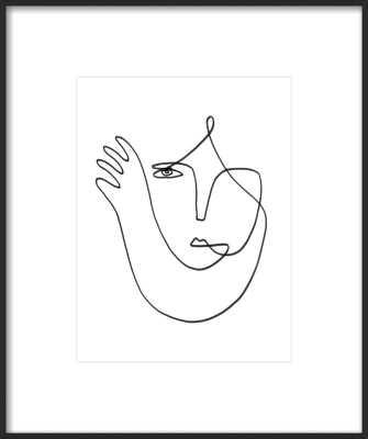 Muchacha 11 x 14 by Femke Colaris for Artfully Walls - Artfully Walls