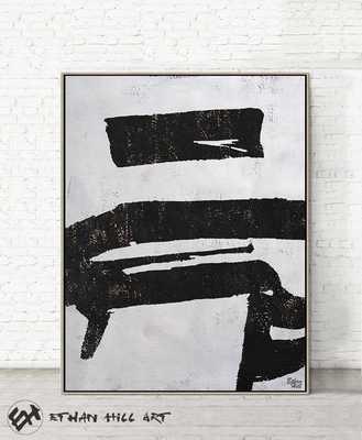 """Large minimalist painting - 40"""" x 53"""" - Etsy"""
