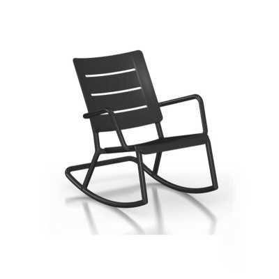Alfortville Rocking Chair -Black - Wayfair