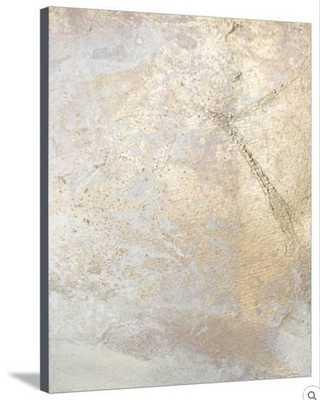 GOLD FUSION V - Canvas - art.com