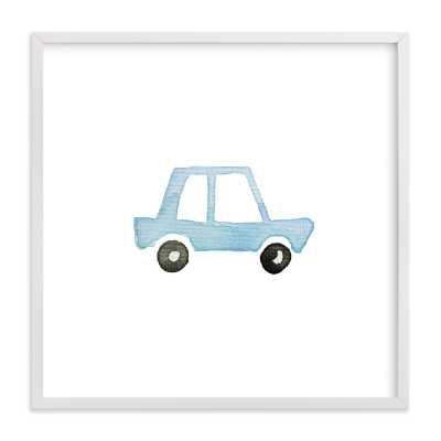 Blue Car Art - Minted
