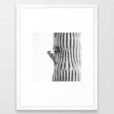 Gila Woodpecker Framed Art Print - Society6