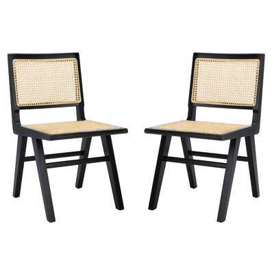 Cane Side Chair (Set of 2) - Wayfair