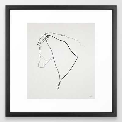Horse 2512 Art Print - 22  x 22 - Society6