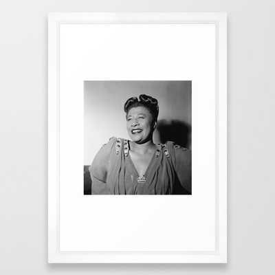 Ella Fitzgerald Framed Art Print - Society6