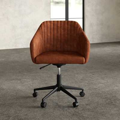Flannigan Task Chair_Brown - Wayfair