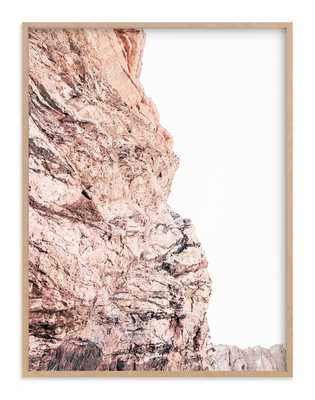 """Painted Canyon 2 Art Print // Image Size: 30""""x40"""" //Natural Raw Wood Frame .75"""" // Frame Size: 31.3""""x41.3"""" - Minted"""
