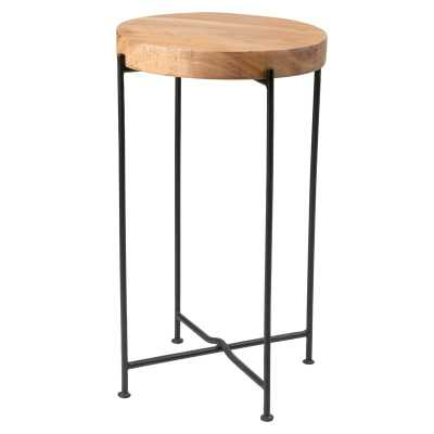 Sherlene Wood End Table - Wayfair