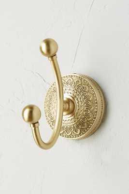 Brass Medallion Hook - Anthropologie
