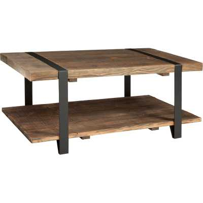 "Bosworth 42"" Reclaimed Wood Coffee Table - Wayfair"