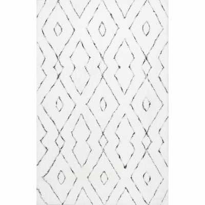 Peraza Handmade White Area Rug - AllModern