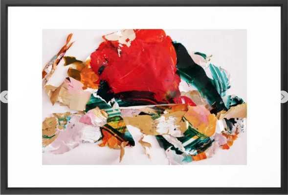 In the end Framed Art Print - Society6